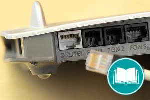 Bild eines DSL-Anschlusses