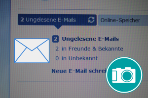 Posteingang eines Emailfaches