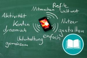 Mind Map mit Begriffen zu Web 2.0