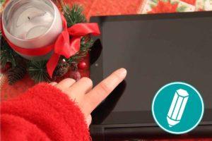 Weihnachtsstimmung auf dem Smartphone