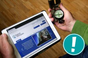 Digital-Kompass: Unterstützung für Multiplikatoren