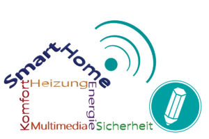 Grafik zum Thema Smart Home.
