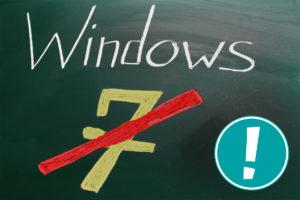 Auf Wiedersehen Windows 7