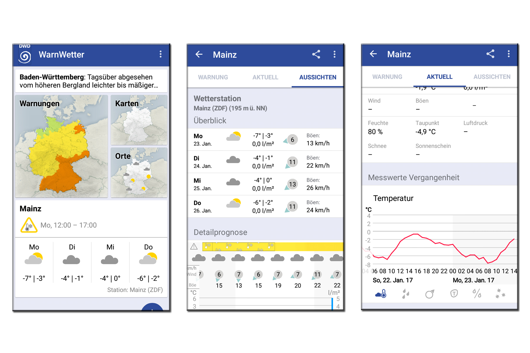 Unwetter-App