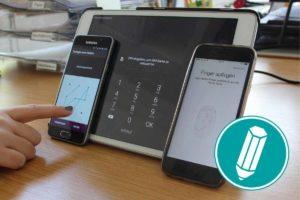 Bildschirmsperre einrichten (iOS)
