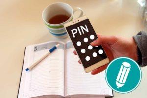 PIN einrichten