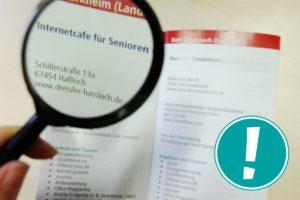 PC- und Internettreffs für ältere Menschen in Rheinland-Pfalz