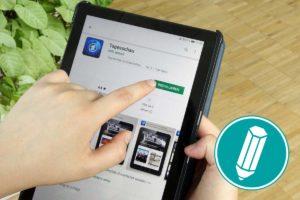 Wie bekomme ich eine App aufs Smartphone oder Tablet? (Android)
