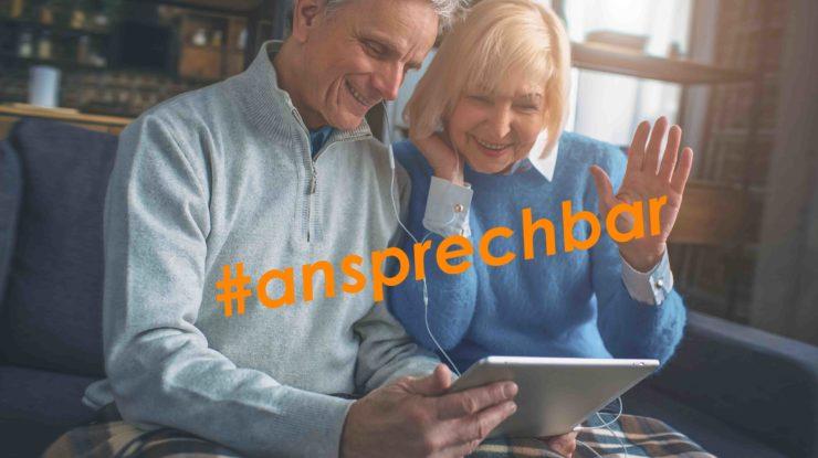 #ansprechbar