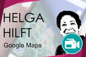 Wie funktioniert Google Maps?
